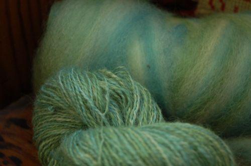 Turquiose wool